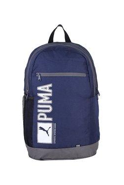 8c5292d00b81 Puma Pioneer I Ind Navy   Grey Printed Laptop Backpack