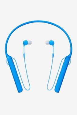 Sony WI-C400 In The Ear Bluetooth Headphones Neckband (Blue)