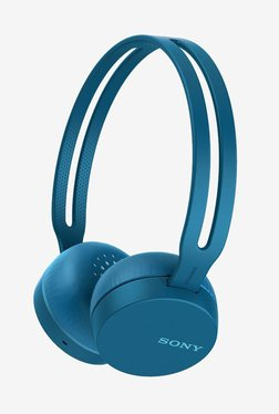 Sony CH400 On The Ear Wireless Headphones With Mic (Blue)