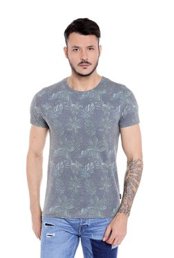 Jack & Jones Grey Slim Fit T-Shirt