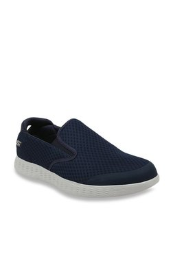 Skechers On-The-Go Navy Slip-Ons