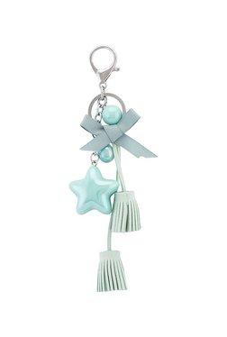 2634dde87 Globus Star Shaped Mint Green   Silver Keychain