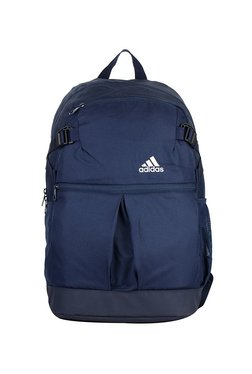 a2bb3ee7c7ce Adidas Power Css Up Navy Solid Polyester Laptop Backpack