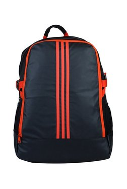 f84762a1f204 Adidas Power III Black   Orange Striped Laptop Backpack