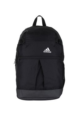 c9db5bbc28d2 Adidas Power Css Up Black Solid Polyester Laptop Backpack