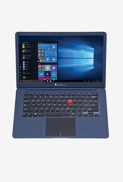 iBall CompBook M500 (Celeron N3350/4GB/32GB/35.56cm(14)/W10/INT) Blue TATA CLiQ Rs. 14999.00