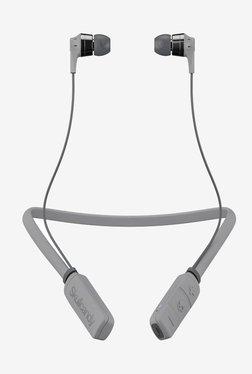 Skullcandy SCS2IKW-K610 Bluetooth Headset with Mic (Street Gray/Chrome)