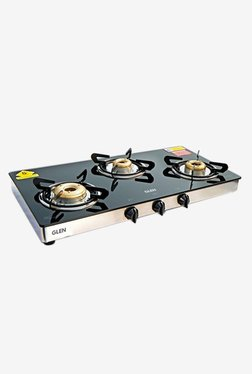 Glen 1033 GT XL 3 Burner Gas Stove (Black)