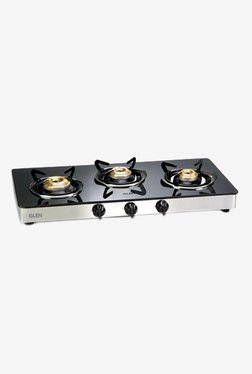 Glen 1033 GT 3 Burner Gas Stove (Black)