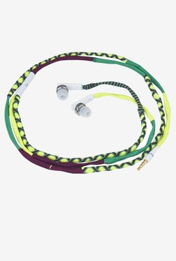 Parallel Universe In The Ear Headphones With Mic (Green)