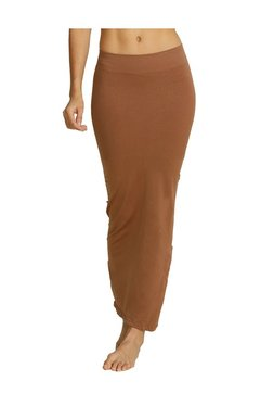 b5d9398648cec Zivame Brown Polyamide Saree Shapewear