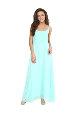 Miss Chase Mint Relaxed Fit Maxi Dress