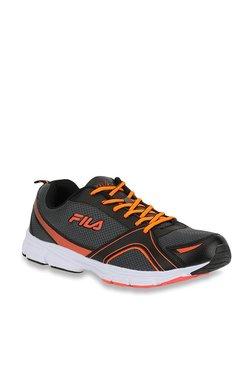 Fila Elstone Black   Orange Running Shoes 569844ba2