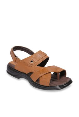 Red Chief Tan Back Strap Sandals - Mp000000003353144