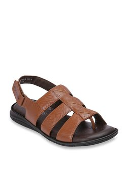 Red Chief Tan Back Strap Sandals - Mp000000003352784