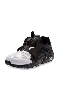 Puma Disc Blaze Frosted White & Black Sneakers
