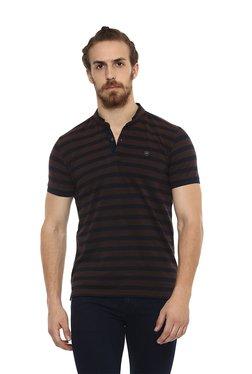843df761 Buy Mufti T-shirts & Polos - Upto 70% Off Online - TATA CLiQ