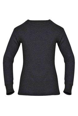 c09a6e25409 Jockey Kids Grey Textured Thermal Vest - KT02