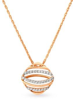 Mia by Tanishq 14 kt Gold & 0.164 ct Diamond Pendant