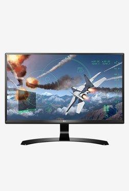 LG 24UD58-B 60.45 Cm (24 Inch) 4K Ultra HD Monitor (Black)