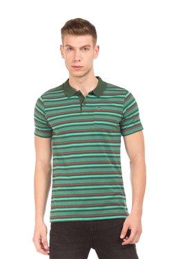 Ruggers Green Short Sleeves Polo T-Shirt
