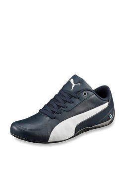 Puma Bmw Ms Drift Cat 5 Navy Blue Sneakers for Men online in India ... 13f6e5b21