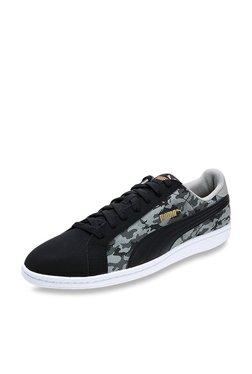 Puma Smash Buck Camo Black Sneakers