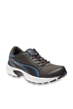 Puma Splendor IDP Asphalt Grey & Royal Blue Running Shoes