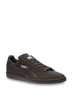 Puma Smash Buck Dark Brown Sneakers