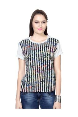 Solly By Allen Solly Multicolor Striped Top