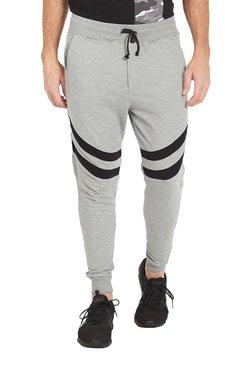 Deezeno Grey Solid Regular Fit Joggers