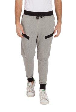 Deezeno Grey Regular Fit Solid Joggers
