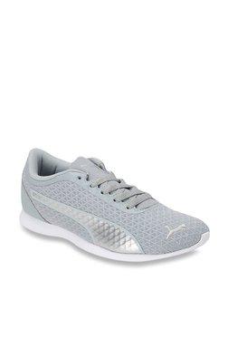 Puma Vega IDP Quarry & Silver Sneakers