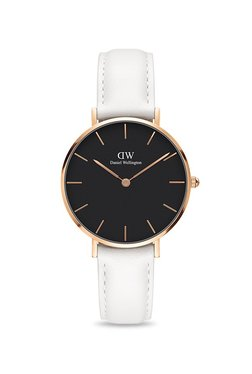 Daniel Wellington DW00100283 Classic Petite Bondi Black Rose Gold 32 Mm Analog Watch For Women