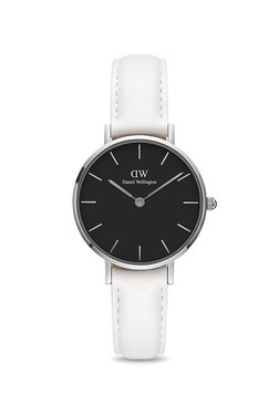 Daniel Wellington DW00100286 Classic Petite Bondi Black Silver 28 Mm Analog Watch For Women