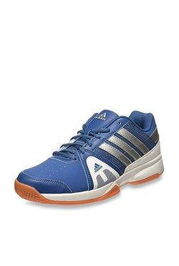 Adidas Net Setters Blue   Silver Tennis Shoes f8e63d726