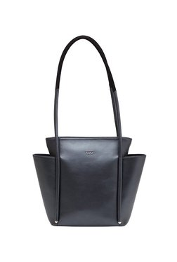 895e6ec15156 Tohl Rp1 Perry Metallic Carbon Solid Leather Shoulder Bag