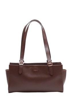 9126b46bfba5 Tohl Rp1 Cortland Chocolate Brown Solid Leather Shoulder Bag