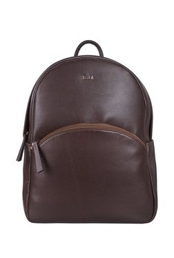 f6d5e8386796 Tohl Rp1 Chena Chocolate Brown Solid Leather Backpack