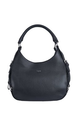 fcaa922031c6 Tohl Rp1 Kaia Black Solid Leather Hobo Handbag