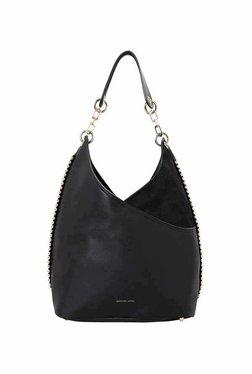 Jennifer Lopez South Beach Slouch Black Hobo Shoulder Bag