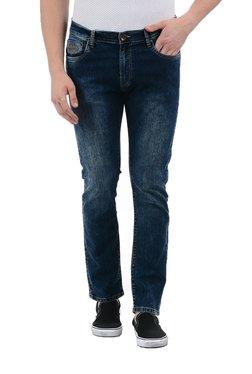 Pepe Jeans Dark Blue Lightly Washed Regular Fit Jeans