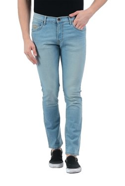 Pepe Jeans Light Blue Lightly Washed Slim Fit Jeans