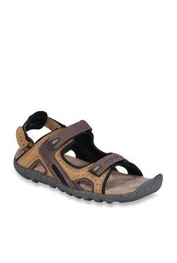 ebebd4a531a887 Woodland Camel   Brown Floater Sandals