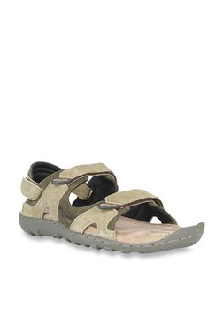 d5407b820c0ae Woodland Khaki Floater Sandals