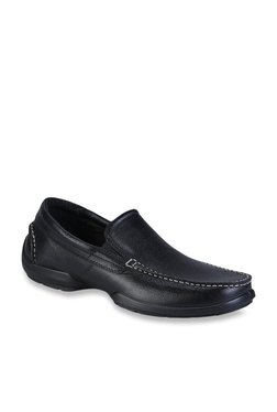 bf6c4652408 Woodland Black Casual Loafers