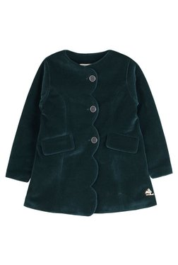 3f224e71d43b9b Cherry Crumble California Kids Dark Green Solid Coat