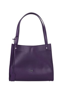 f01a90992eb4 Tohl Rp1 Stanton Aubergine Purple Solid Leather Shoulder Bag