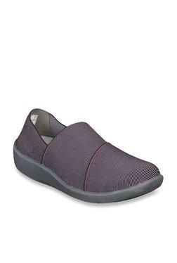 512b44db75a Clarks Sillian Firn Wine Casual Shoes