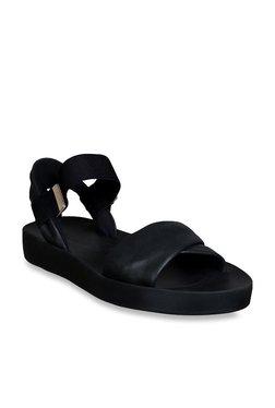 8fa6e96d8d44 Clarks Seanna Sun Black Sandals for women - Get stylish shoes for ...